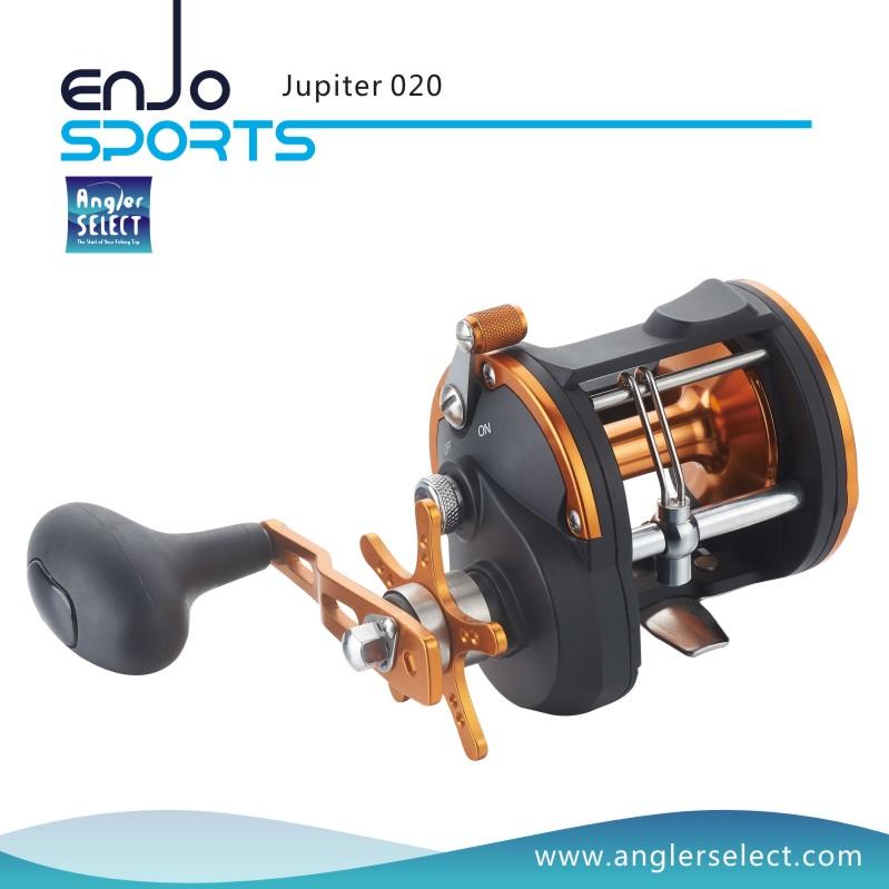 Angler Select Jupiter Sea Fishing Strong Graphite 3+1 Bearing Trolling Reel Fishing Reel (Jupiter 020)
