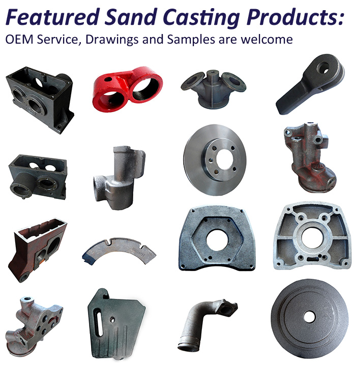 China Fabricated OEM Casting Tractor Truck Parts