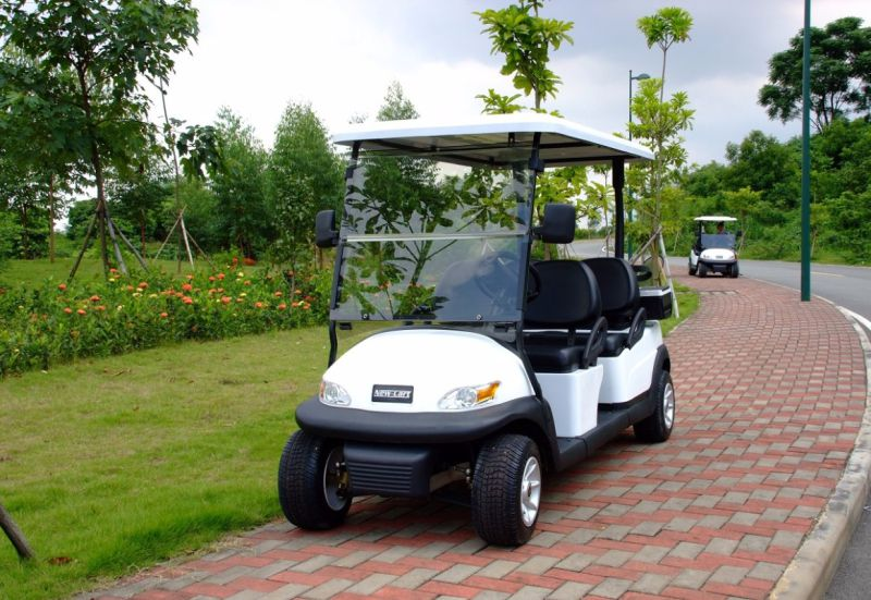Ce Certificated 4 Seat Electric Golf Buggy