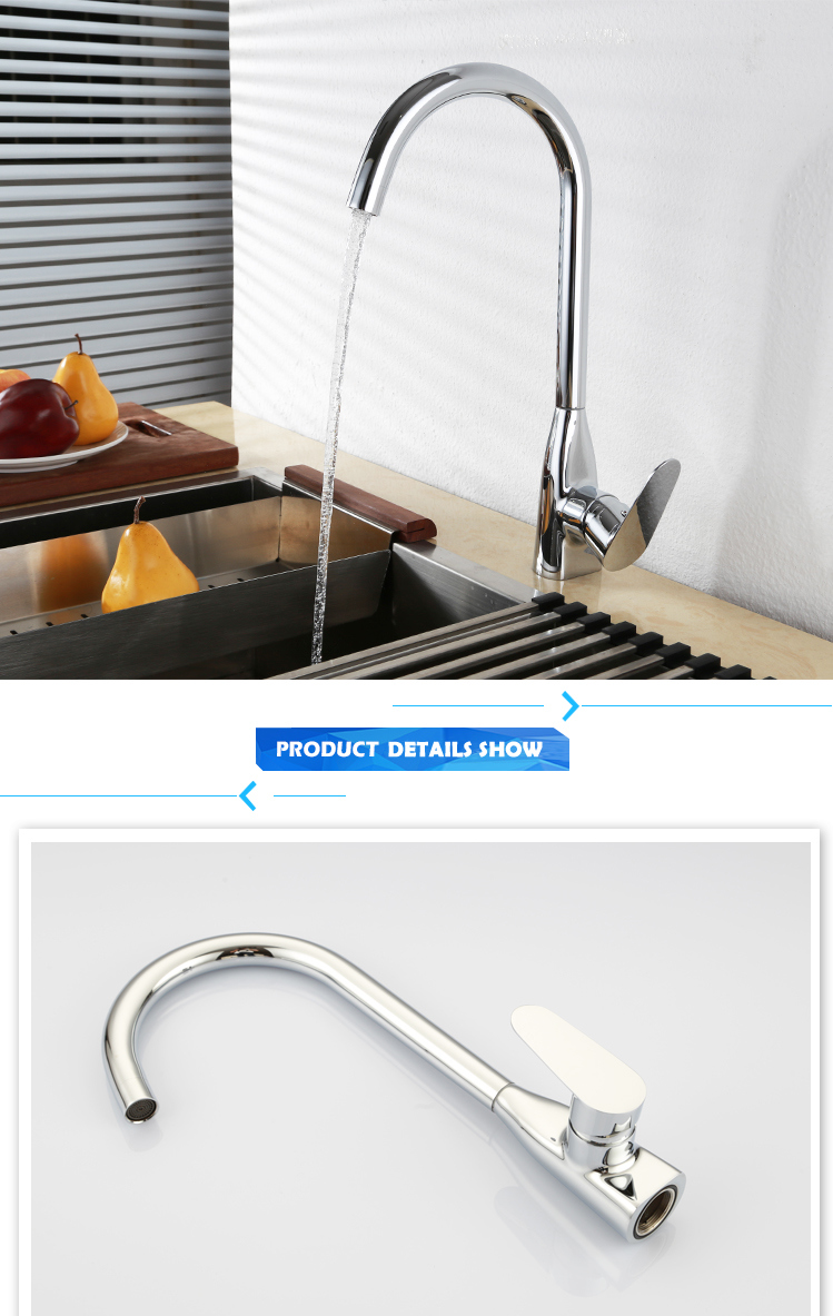 High Quality Zinc Kitchen Sink Faucets with Antique Mixer Kitchenaid