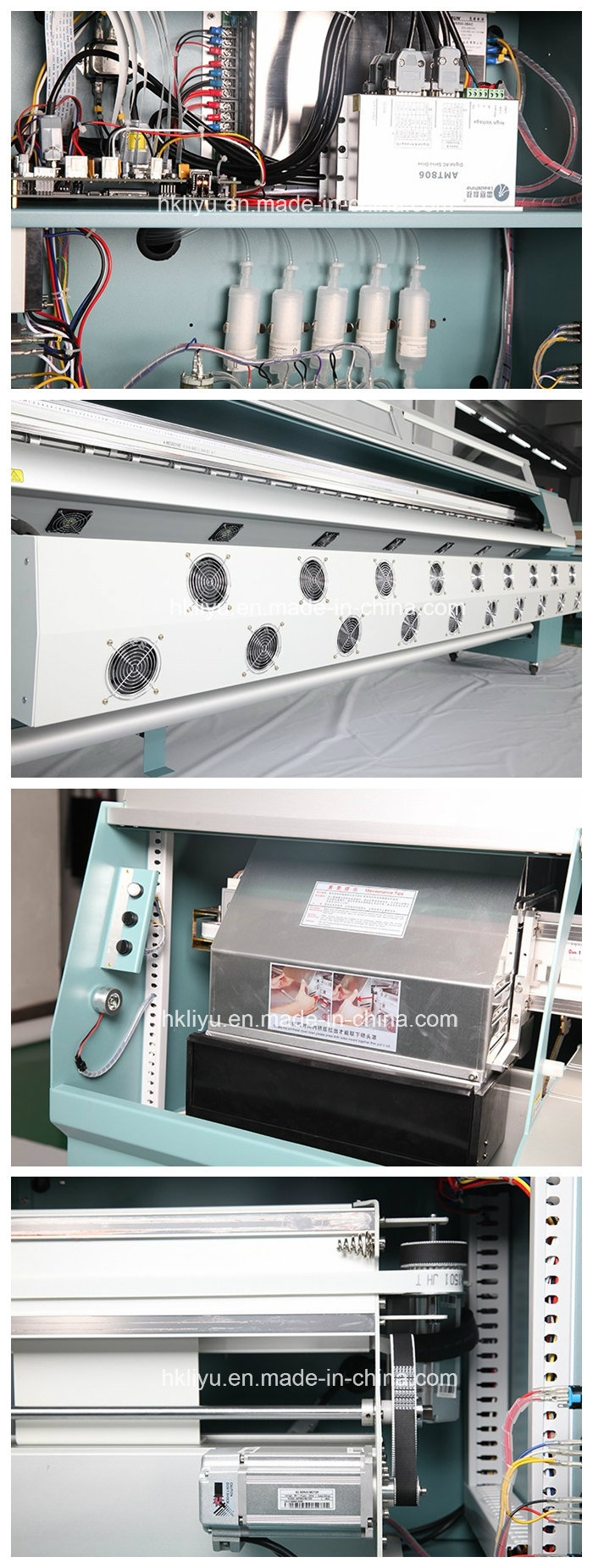 10 Feet Large Format Solvent Inkjet Printer Infiniti Fy-3208t Flex Banner Printing Machine