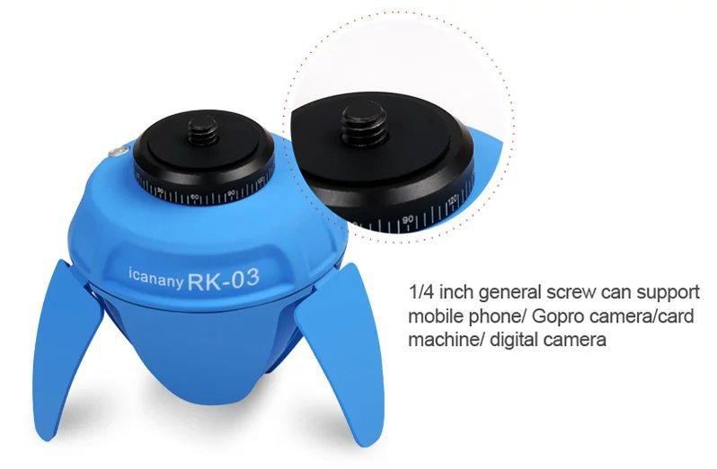 Portable Popular 360 Rotating Head Panorama Mini Selfie Robot