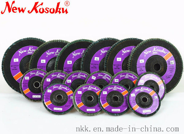 High Efficiency Flap Disc for Polishing Stainless Steel