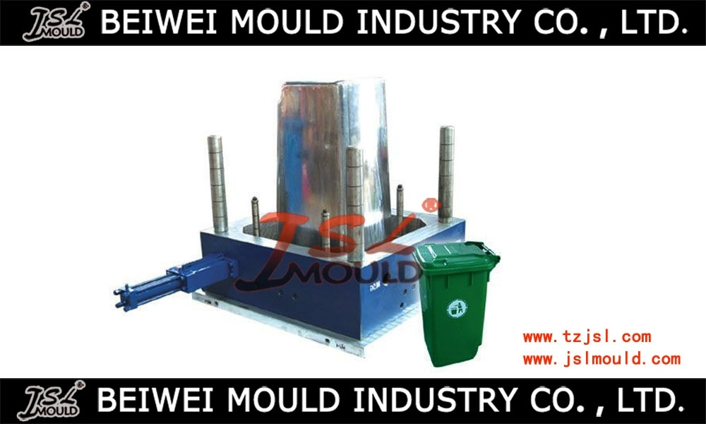 Outdoor Injection Plastic Waste Bin Mould