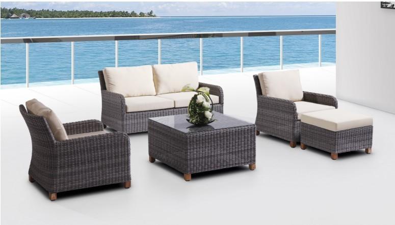 Rattan Wicker Sofa Set Garden Furniture Bm-588