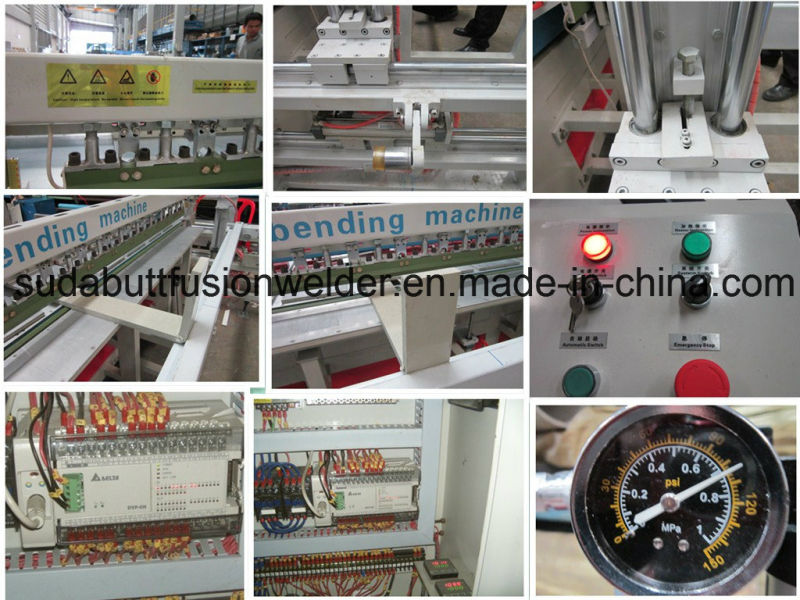 Automatic Plastic Butt-Welding and Bending Machine
