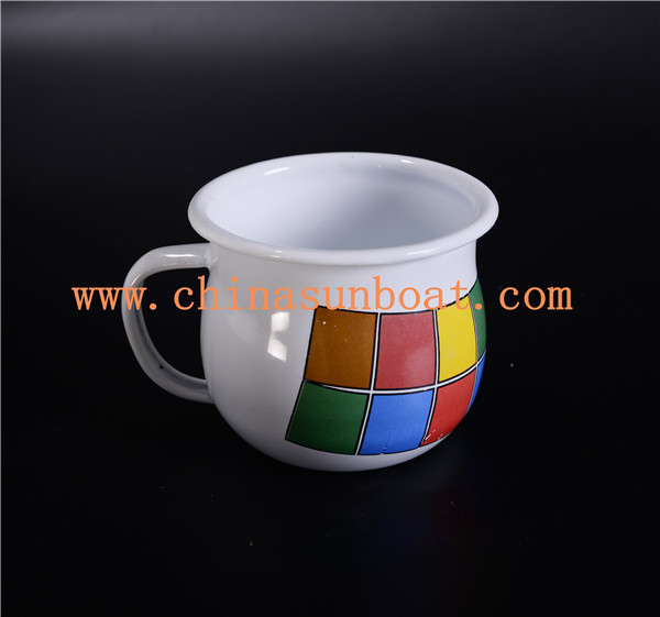 Sunboat Tableware Kitchenware/ Kitchen Appliance Enamel Baking Cup Enamel Cup Measuring Cup Coffee Cup