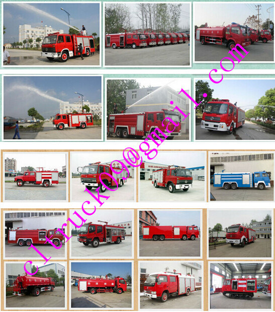 Isuzu 6 Wheels Fire Truck Siren, Firefighting Truck, Fire Engine