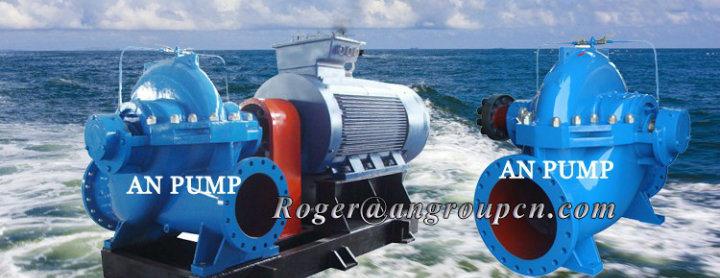 15m Head Split Case Large Flow 1000m3/H Cooling Water Pump