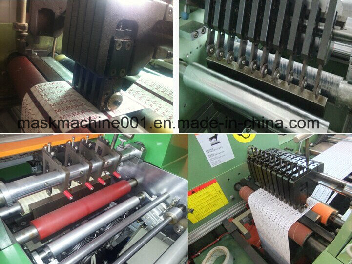 Ultrasonic Woven Label Slitting Machine