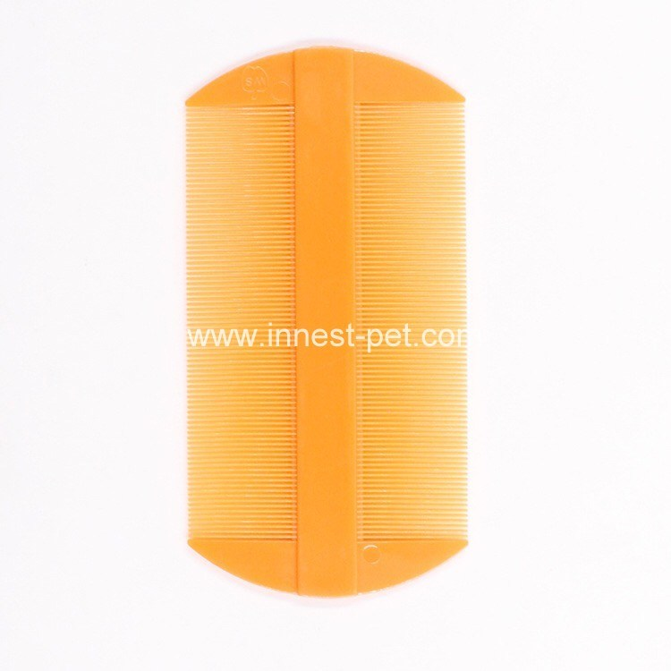 Pet Supply Grooming Product Cheap Plastic Dog accessory Flea Comb