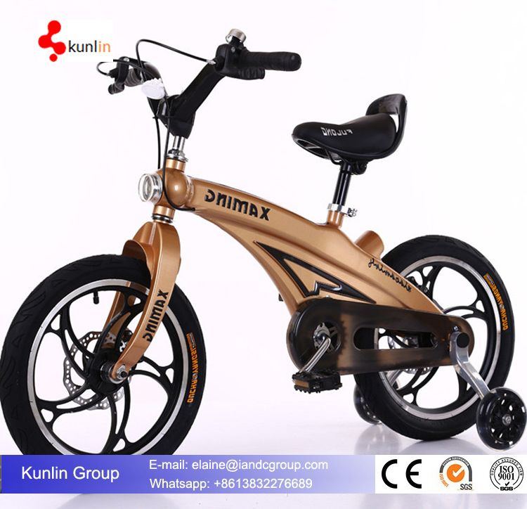 2017 New Products Four Wheel Kid Bike / Child Bicycle