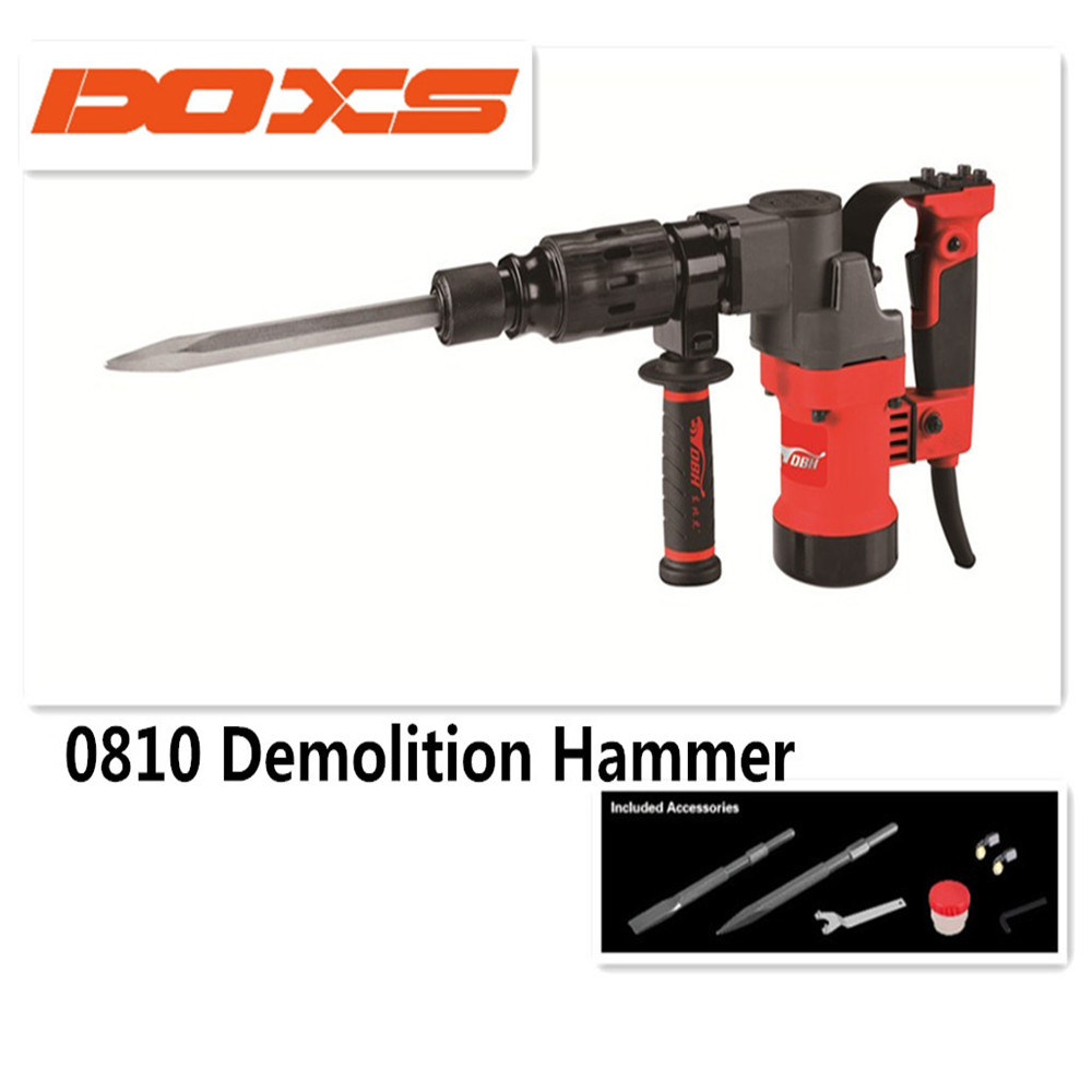Demolition Hammer 0810 Rotary Breaker Hammer Drill Power Tools