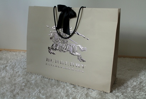 Reusable Paper Shopping Bag with Logo Shine and Emboss