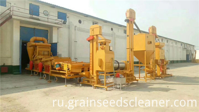 Maize cleaning plant