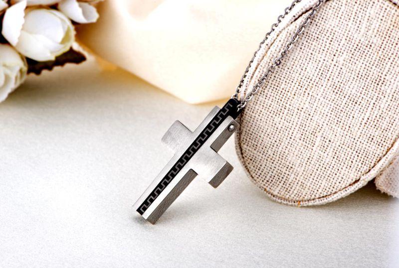 Hdx Steel Macho Cross Jewelry Pendant