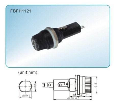 Heavy Duty Cartridge Inline Fuse Holder