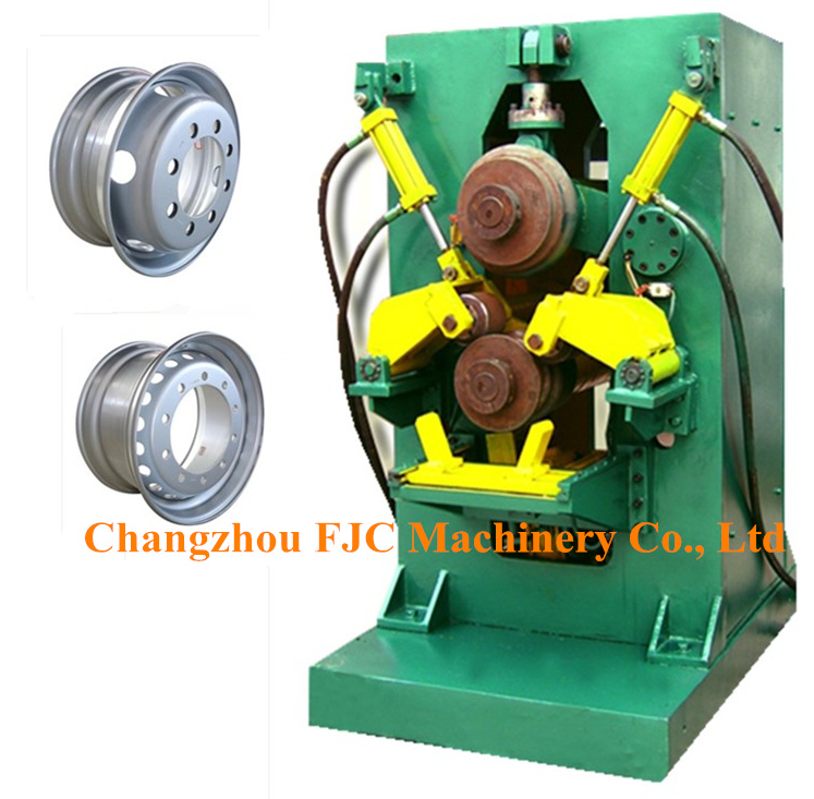 Hydraulic Agricultural Tubeless Wheels Rollforming Machine for 17.5