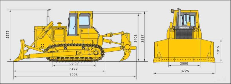 High Configuration Pd220ys-2 Bulldozer