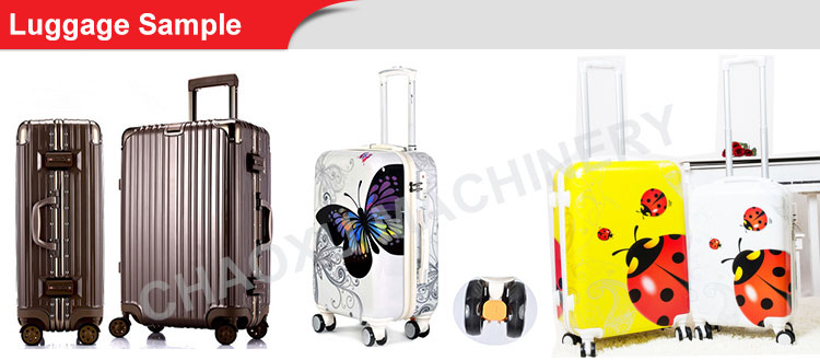China Factory Produce Suitcases Travel One Set Making Machine 2016