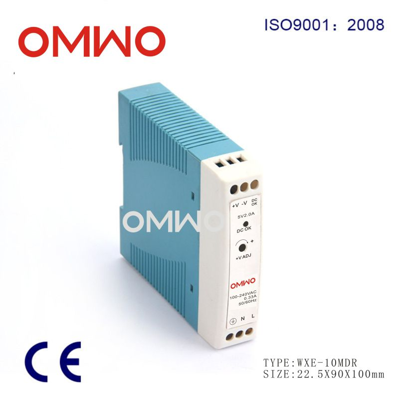 Wxe-10mdr-12 Industrial DIN Rail Power Supply