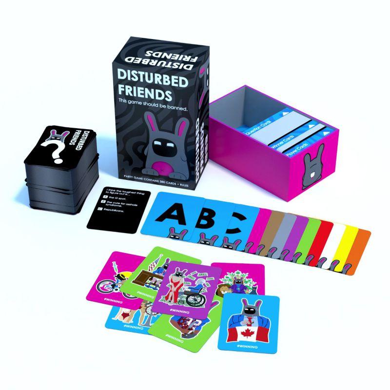 Disturbed Friends Paper Game