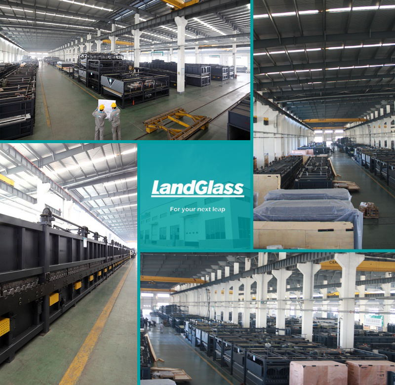 Landglass Electric Heating Glass Tempering/Toughening Furnace Machine