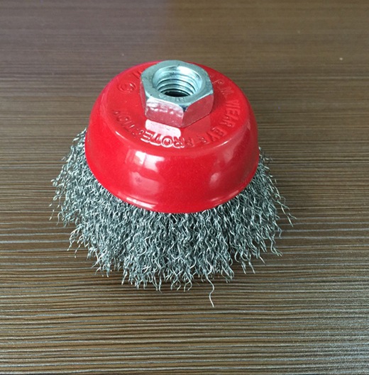 2.5inch Stainless Steel Cup Brush (YY-621)