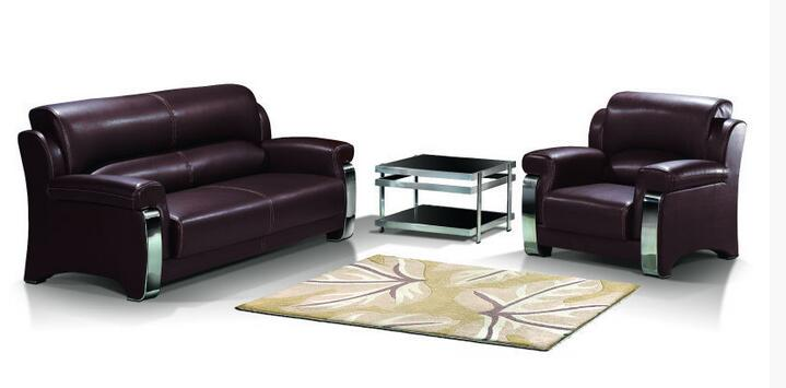 Modern PU Sofa Sectional Office Sofa Set