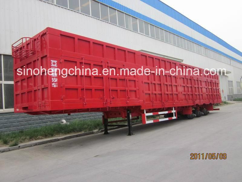 Good Quality Box Cargo Semi Trailer 3 Axles