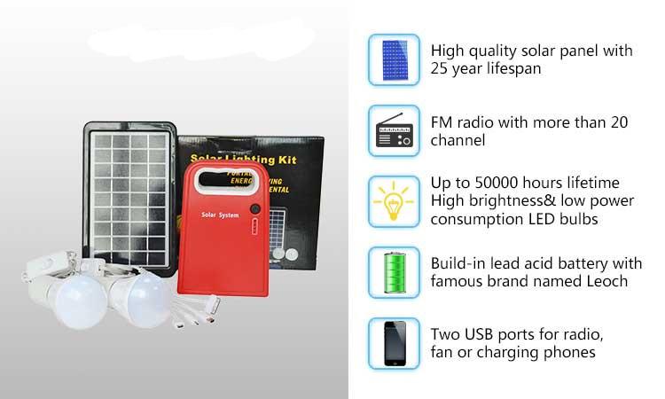 Portable Solar Lighting Kits for Home Using