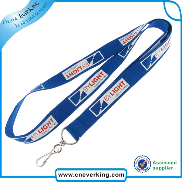 Custom Logo Printing Polyester Lanyards for Promotion