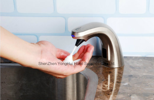 Wash Basin Top Automatic Soap Dispenser for Lavatory