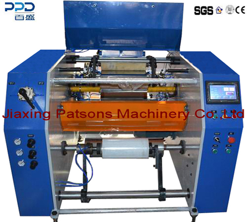High Quality Cling Wrap Film Dotted Line Rewinding Machine