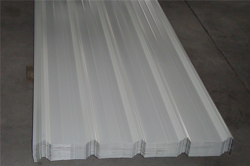 Grey White Gl Galvanized Steel Roofing Wall Sheet