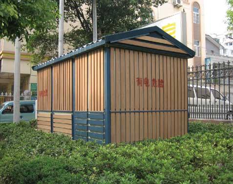 Wood Plastic Composite, WPC House