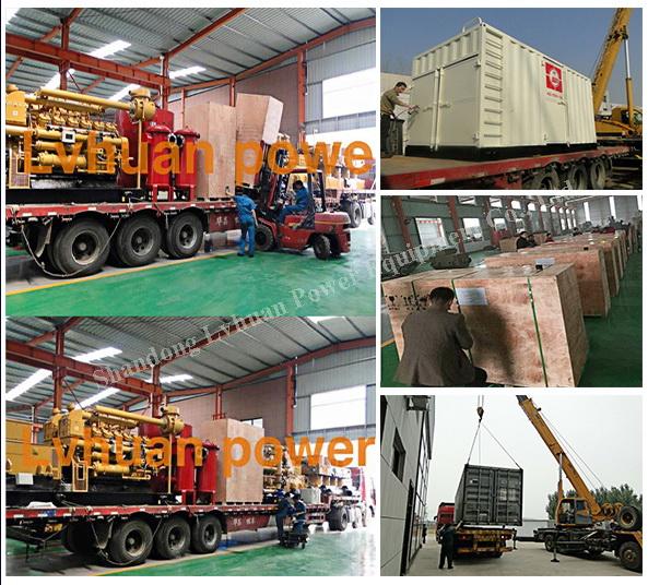 Biogas (methane) Generator 400kw Genset Natural/Biomass Suitable