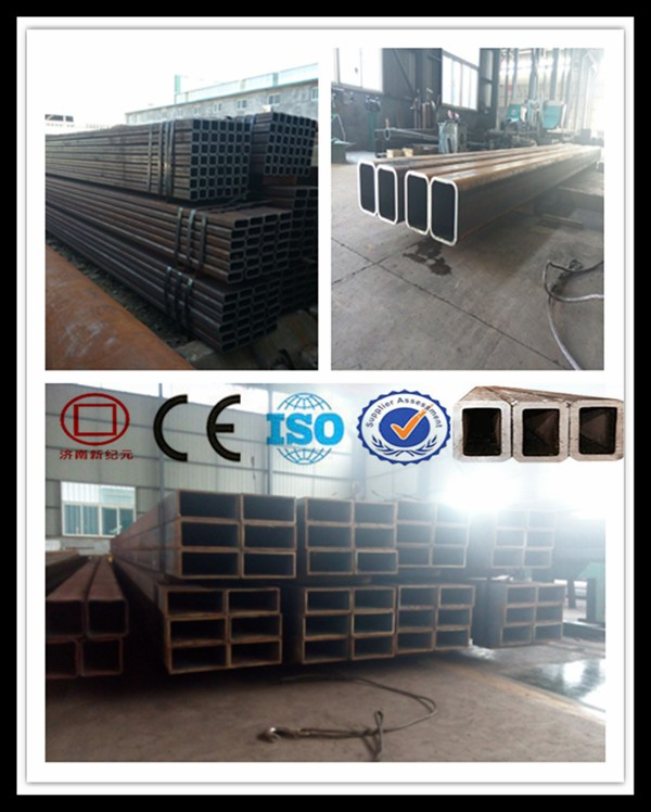 Structure Ms Rectangular Steel Pipe