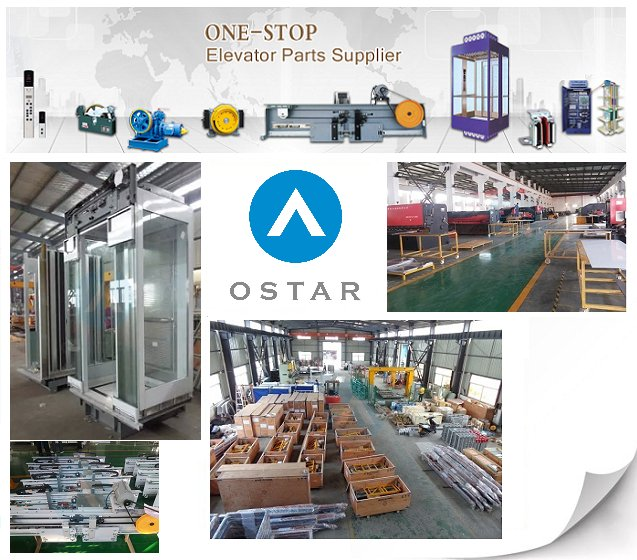 Glass Panoramic Cabin for Observation Passenger Elevator, Elevator Parts (OS41)