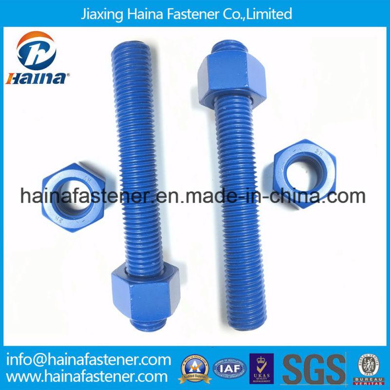 ASTM A490 Structural Bolt, Alloy Steel, Heat Treated, 150ksi Minimum Tensile Strength Standard Bolt