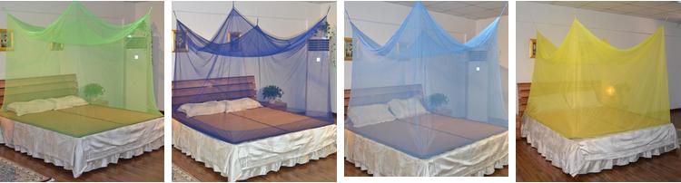 100% Polyester Treated Mosquito Net Prevention Zika Virus