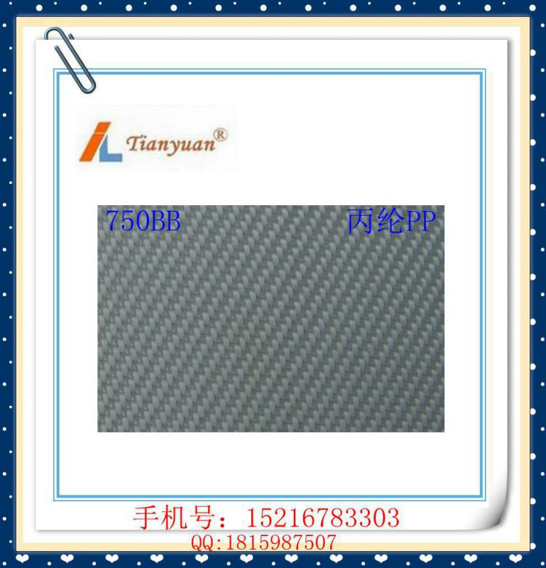 Plain/Twill/Satin Polypropylene PP Filter Cloth