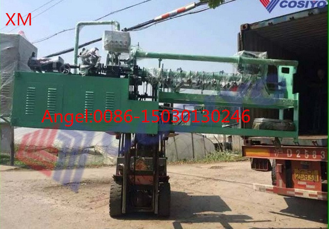 2m-4m Width Full Automatic Double /Single Wire Chain Link Fence Making Machine
