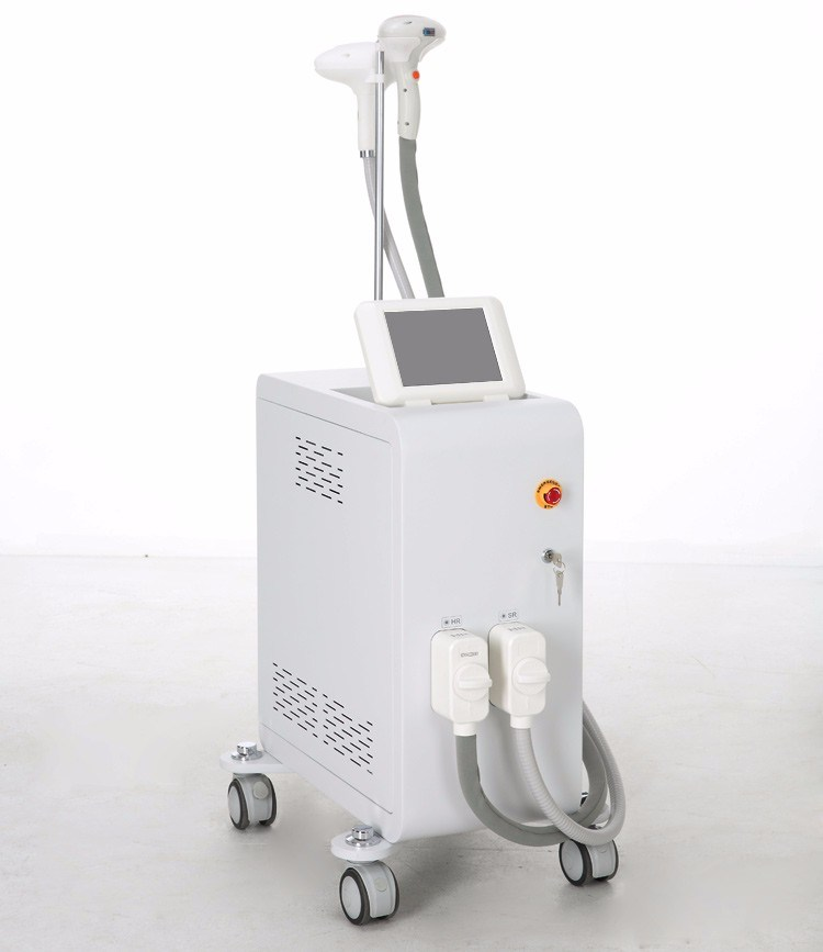 Sapphire Shr IPL with 2 Handle Fast Hair Removal IPL Skin Rejuvenation Machine