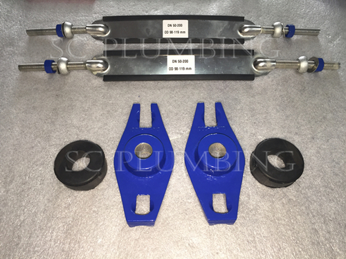 Tapping Saddles Clamp for Pipe