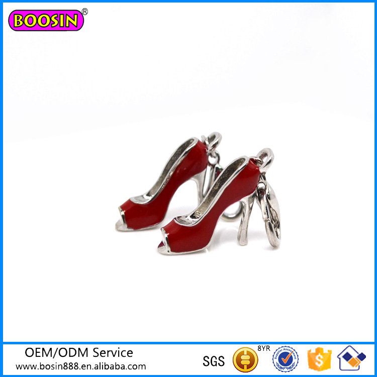 2016 Trendy Fashion Charm Jewelry High Heel Charm #17115