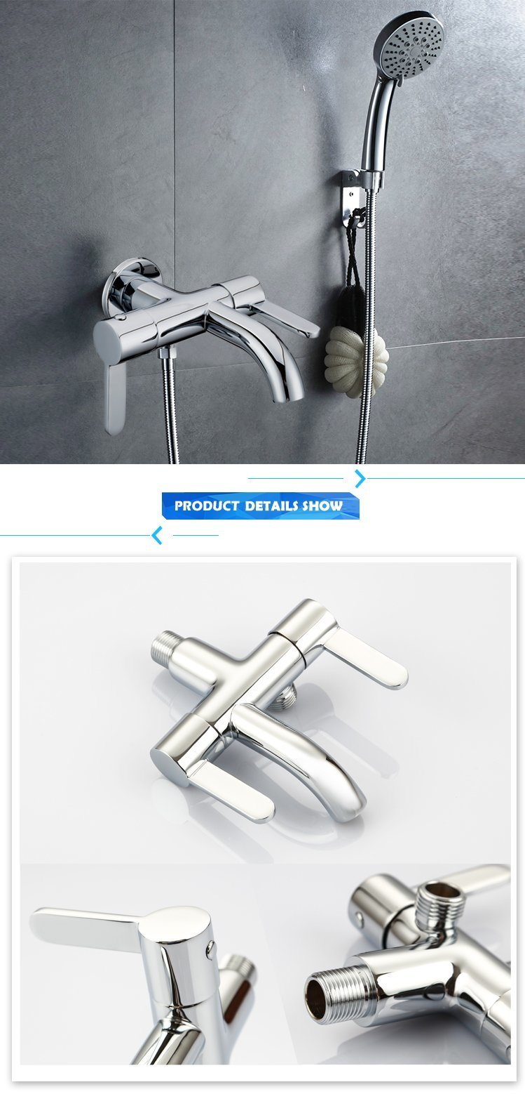 New Design Multi-Function Double Handle Faucet/Tap/Mixer
