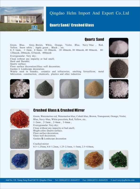 Greenland Green Silica/Quartz Sand for Solid Surface Counter Top