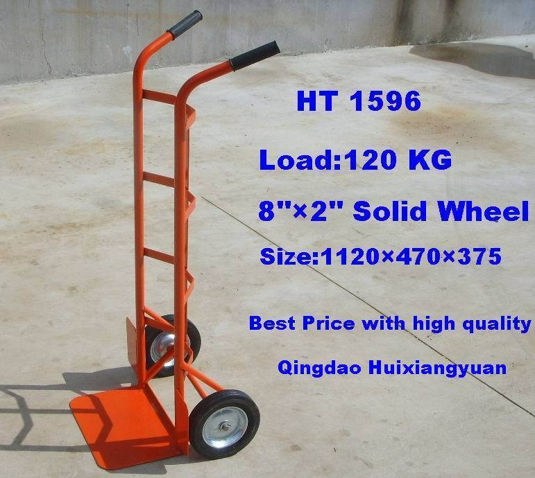 Ht0132 Steel Tool Hand Pull Cart Trolley
