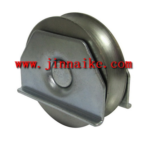U Groove Iron Sliding Gate Pulley